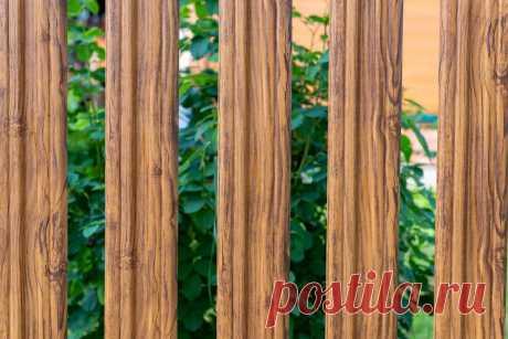"""""""Нестареющее дерево"""": металлические ограждения с имитацией природных текстур.   Masterovit   Яндекс Дзен"""