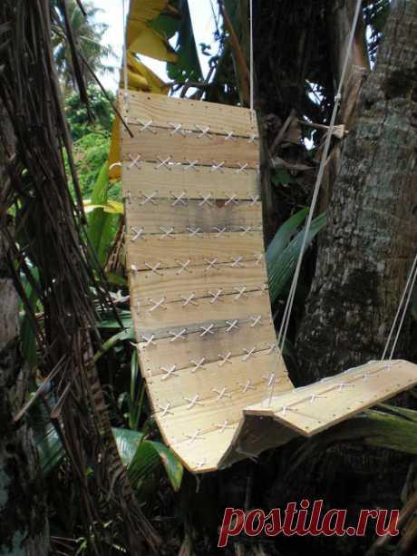 Деревянный гамак-кресло своими руками — Сделай сам, идеи для творчества - DIY Ideas