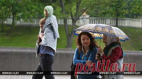Кратковременные дожди и грозы ожидаются в Беларуси 16 мая - Новости Mail.Ru