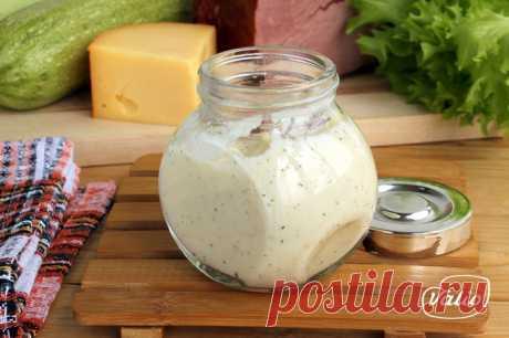 Сметанно-сырный соус - пошаговый рецепт приготовления с фото