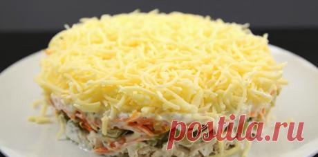 Куриный салат с чесночным соусом. Просто и очень вкусно! | Каша из топора | Яндекс Дзен