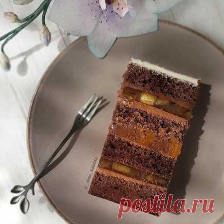 """Торт """"Трио"""" Бисквитный торт"""
