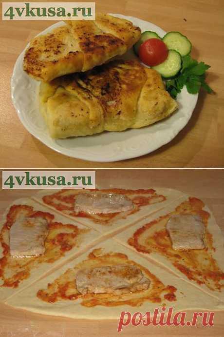 Мясо в тесте. | 4vkusa.ru