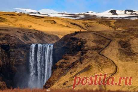 The Icelandic falls in a lens Mila Byrko (nat-geo.ru\/photo\/user\/50287)