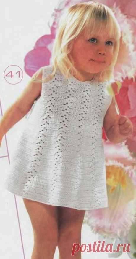 ПЛАТЬЕ ДЛЯ МАЛЫШКИ Платье для малышки   1.   2.