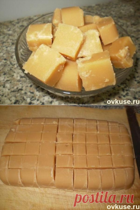 Сливочная помадка - Простые рецепты Овкусе.ру
