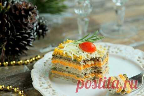 Селедочный торт / Меню недели