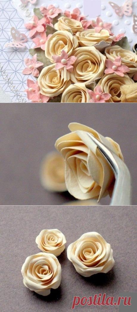 Розочки из спирали - Интересные идеи для вдохновения