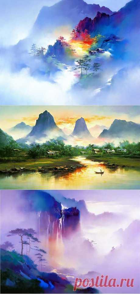 Пиктурист Пейзажи редкой красоты и гармонии от H. Leung…   Пиктурист