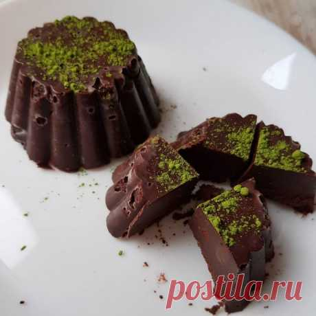 Постные шоколадные конфеты