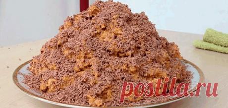 Торт «Муравейник» из печенья .