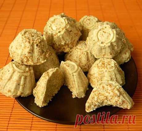 Индийские сладости: Вкуснейший сливочный десерт с кунжутом