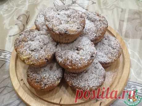 Кексы-шарлотки в йогуртово-творожном тесте Кулинарный рецепт