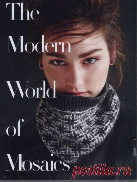 【转载】 Vogue Knitting 2014-2015 冬 -  - 网易博客