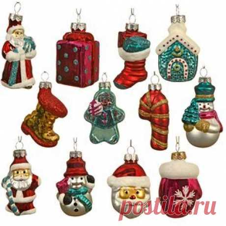 Set of Glass Christmas Tree Ornaments Christmas Fairy Tale 12 PCs, (Kaemingk) Set of Glass Christmas Tree Ornaments Christmas Fairy Tale 12 PCs, (Kaemingk)  Article: ID56685  A country: Netherlands  Production: China  Santa Claus and Santa Claus, funny Snowmen in winter hats, gingerbread man, and many other attributes of...
