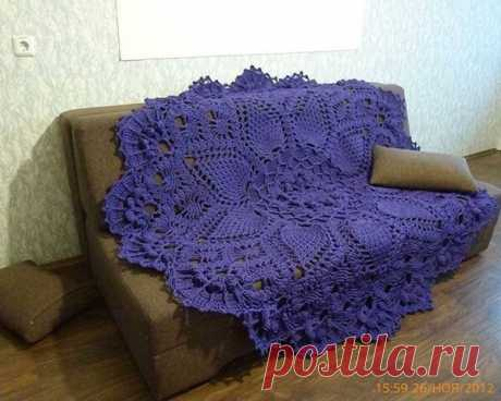 Как связать коврик крючком — Красивое вязание