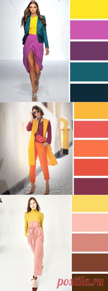 8 роскошных сочетаний с желтым цветом. — Модно / Nemodno