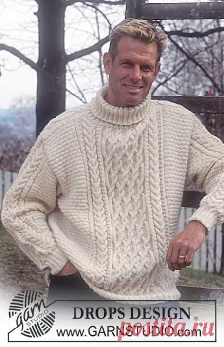 Роскошный мужской пуловер!