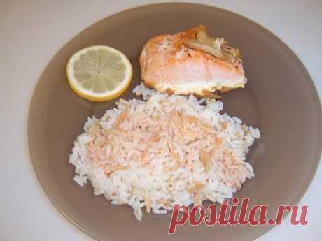 Рыба с рисом. Маринкины творинки