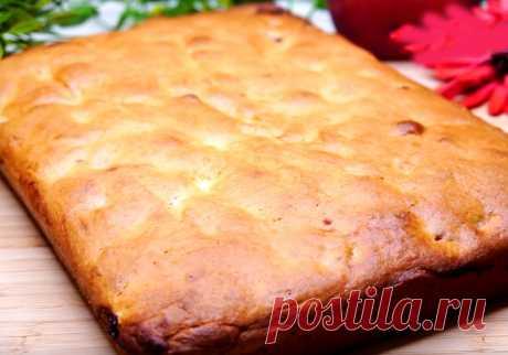 Пирог с вишней в духовке простой пошаговый рецепт