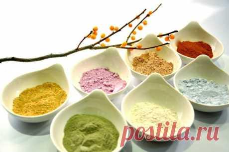 Косметическая глина: выбираем по цвету