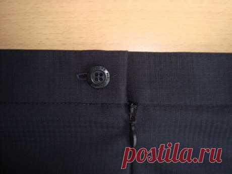 Обработка верха юбки притачным поясом / Необычные поделки