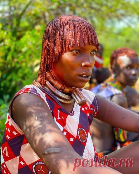 Про «высокие отношения» в племени хамер и почетное право быть первой женой | Арина Шумакова | Яндекс Дзен