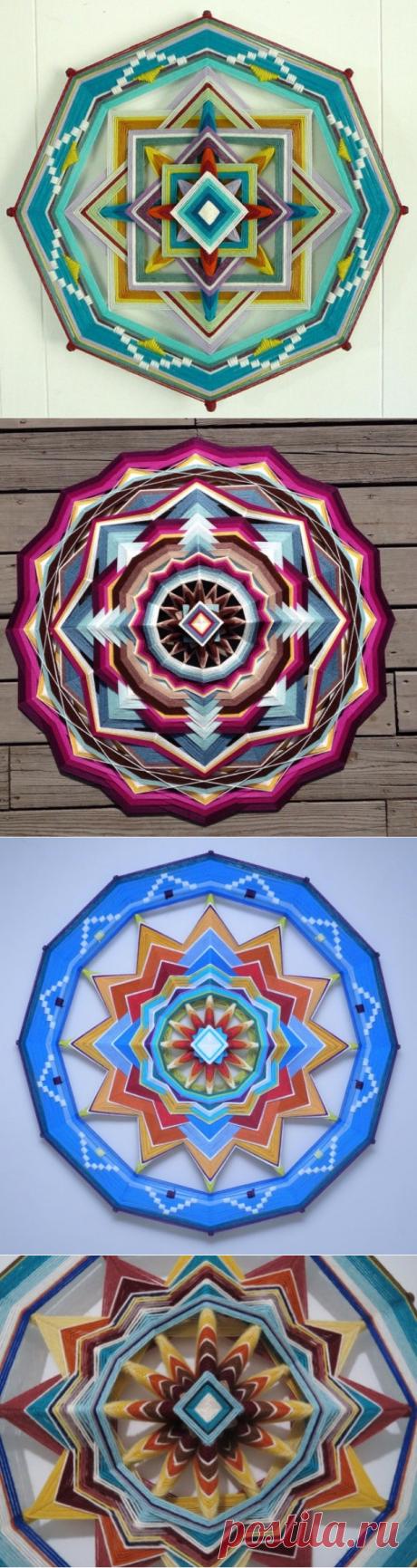Плетеные мандалы. Видео мастер-класс — HandMade