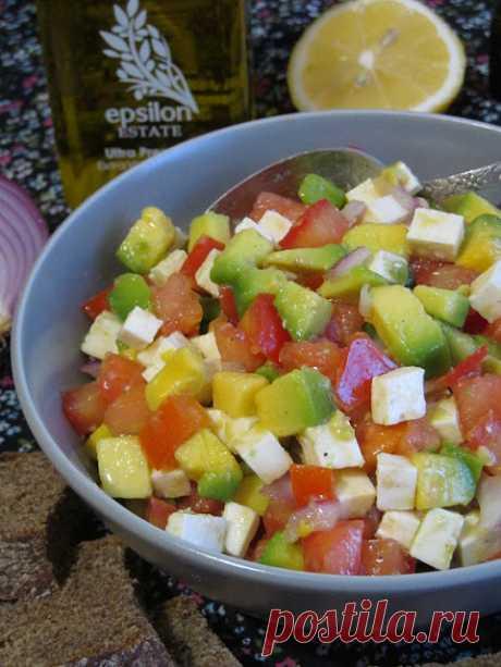 Самый вкусный салат из авокадо! - БУДЕТ ВКУСНО! - медиаплатформа МирТесен