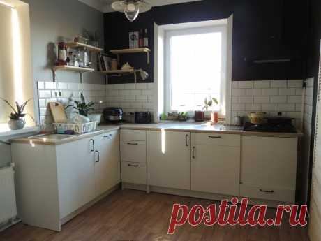 Купили большую кухню IKEA за 21 400 рублей. | Дом на Безымянной | Яндекс Дзен