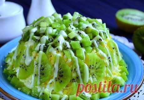 Красивейший по виду и ШИКАРНЫЙ по вкусу салат ИЗУМРУДНАЯ РОССЫПЬ
