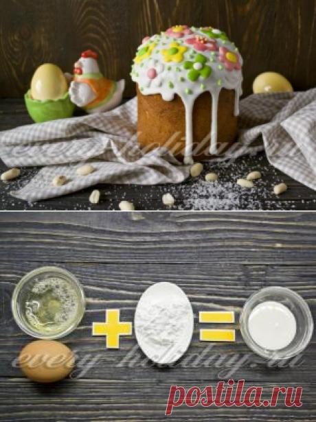 Кулич с орехами, рецепт с фото