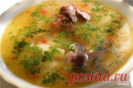 Суп из гусиных потрохов - рецепт с фото на Повар.ру