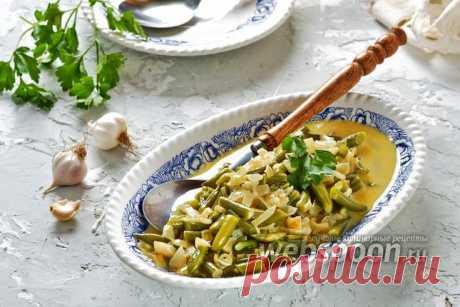 Стручковая фасоль в сливочном соусе рецепт с фото, как приготовить на Webspoon.ru