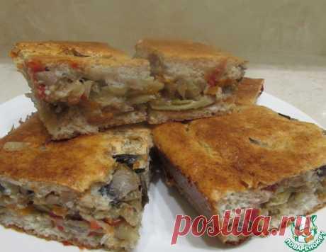 Диетический пирог с капустой и грибами – кулинарный рецепт