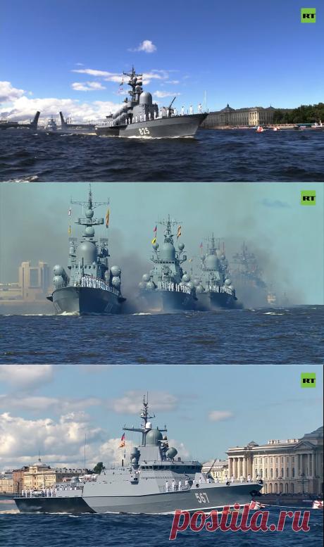 Военно-морская техника парада 2020 года - Hi-Tech Mail.ru