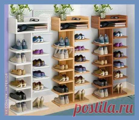 А как вам такой вариант хранения обуви?
