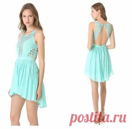 Платье для самых смелых на жару / Вещь / Модный сайт о стильной переделке одежды и интерьера