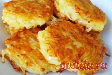 Хашбраун из отварного картофеля как в KFC, рецепт с фото