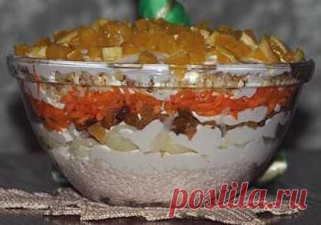 Салат Французская любовница | праздничные рецепты с фото на e-salat.ru
