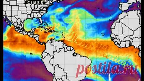 Massive Wave Anomaly Coming from US Gulf Cost Region We have caught yet another massive wave anomaly on MIMIC Map. This time it seems to be coming from the US region of the Gulf of Mexico. The wave stretches do...