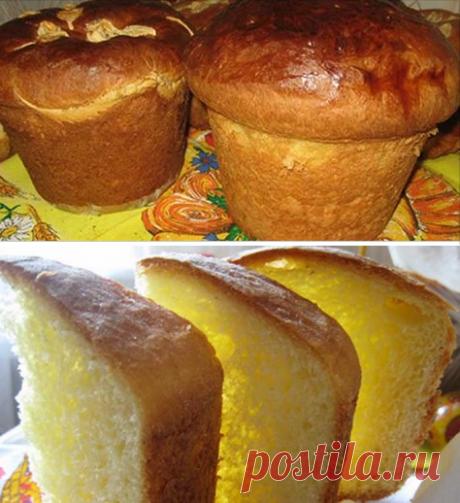 Easter cakes from Vasily Miroslavovich