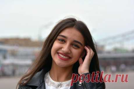Юная красавица из Таджикистана
