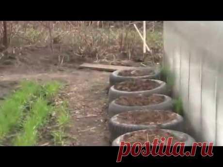 обзор работ на огороде конец апреля