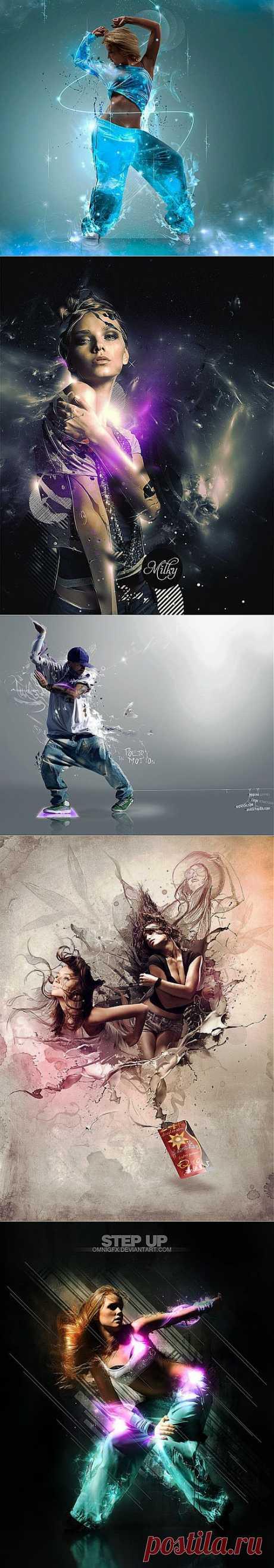 Красивые картинки для вдохновения — третий выпуск | Мир графики и дизайна
