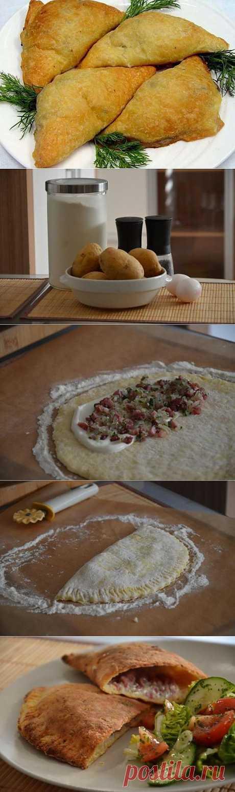 Рецепт на выходной: Картофельные пирожки | SOFTMIXER