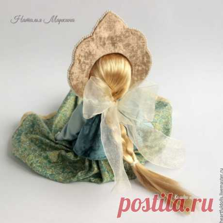 Текстильная куколка красотулечка