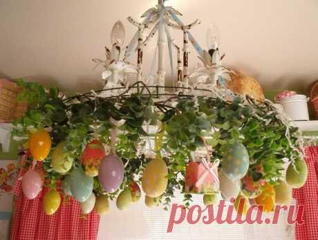 Las ideas creativas a la Pascua