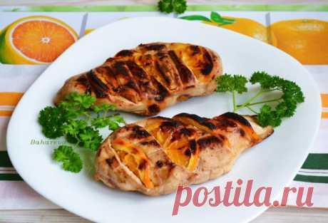 Куриная грудка барбекю с апельсинами - пошаговый рецепт приготовления с фото