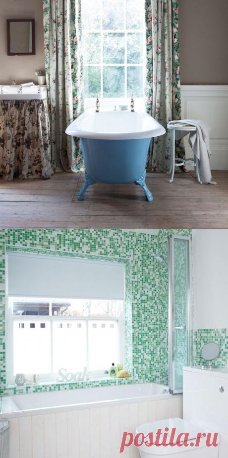 5 самых смелых цветов, делающих ванную привлекательной